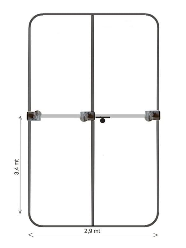 Yagi UB20-MX 6-20 mt.