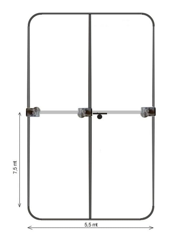 Yagi UB40 MX 6-40 mt.